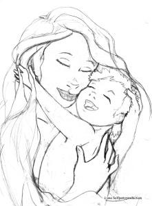 madre e bimbo